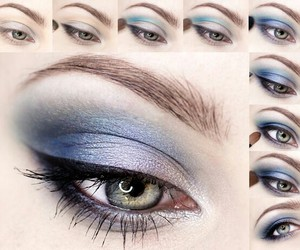 eyes, makeup, and tutorial image