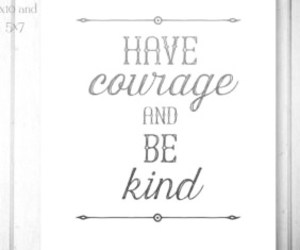 cinderella, courage, and kindness image