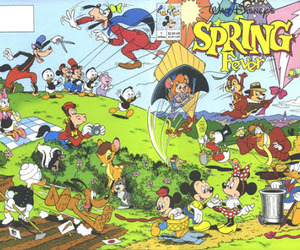 90s, disney, and spring image