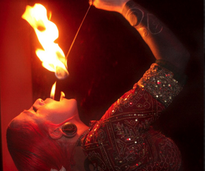 amazing, flame, and fire eating image