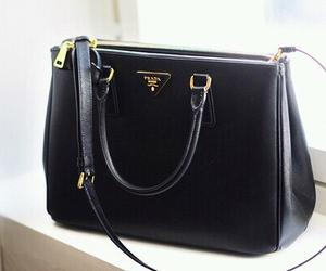 bag, Prada, and black image
