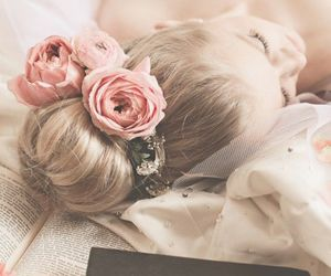 beauty, hairstyle, and pink image