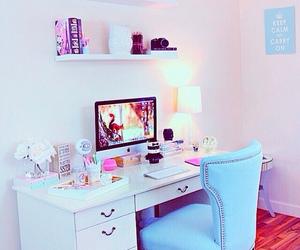 escritorio, decoration, and desk image