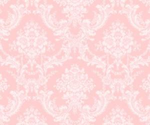 pink, vintage, and wallpaper image