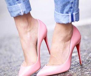 pink heels image