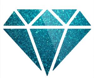diamonds, galaxy, and pink image