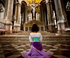 church, disney, and esmeralda image