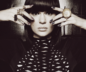 jessie j, nails, and music image