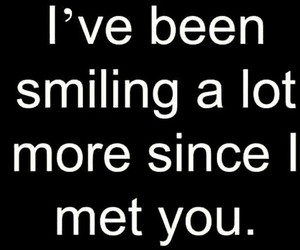 quotes, smiling, and love image