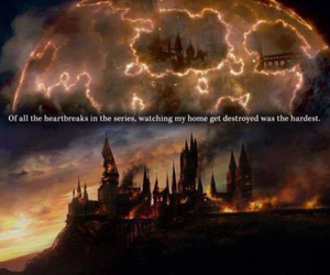 harrypotter, sad, and ourHome image