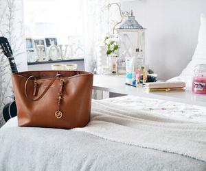 bag, room, and bedroom image
