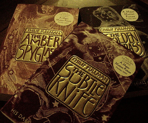 his dark materials, books, and the subtle knife image