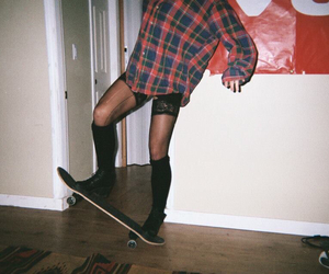 disposable, girl, and grunge image