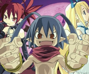 anime, laharl, and game image