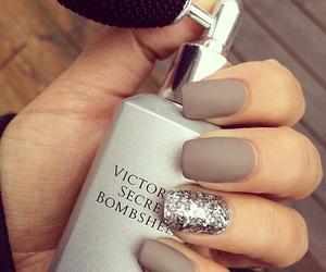 nails, glitter, and victoria secret image