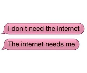 internet, pink, and funny image
