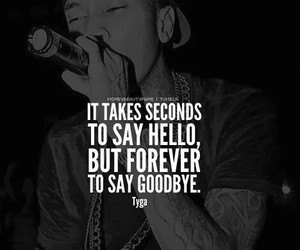 quote, tyga, and love image