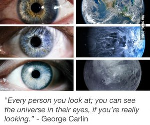beauty, eyes, and universe image
