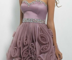 prom dress, dress, and cocktail dress image