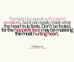 emotions, face, and quote image