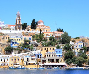 colors, Greece, and colours image