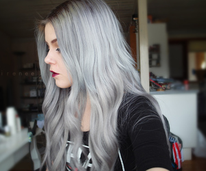 hair, color, and grunge image