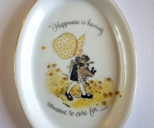 holly hobbie collectible, holly hobbie dish, and holly hobbie wall hanging image