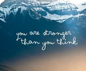strong, quote, and think image