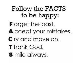 fact, happy, and quote image
