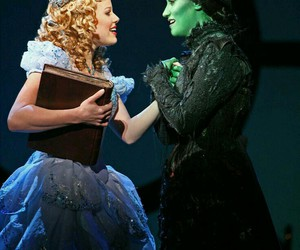 musical, wicked, and glinda image