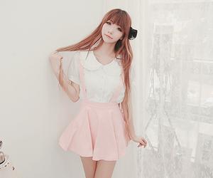 kawaii, kfashion, and pink image