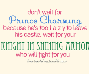quote, knight, and prince image