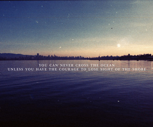 ocean, quote, and truth image