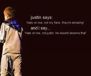 justin bieber, fan, and belieber image