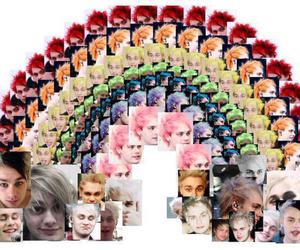 rainbow, 5sos, and michael clifford image