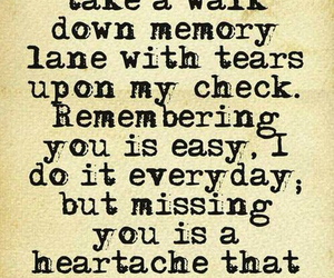 heartache, memories, and tears image