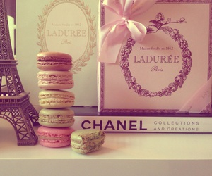 chanel, paris, and laduree image
