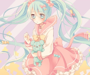 hatsune miku, toy, and vocaloid image
