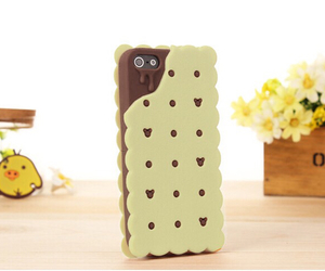 biscuit, cookie, and phone case image