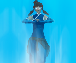 beautiful, water bender, and korra image