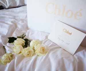 chloe, flowers, and roses image