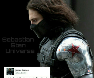 Marvel, sebastian stan, and true image