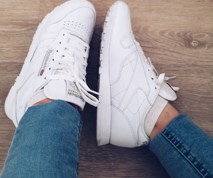 blanche, reebok, and rebook image