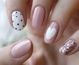 cool, nail art, and unghie image
