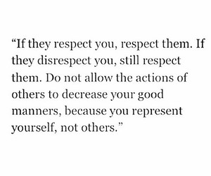 quote and respect image