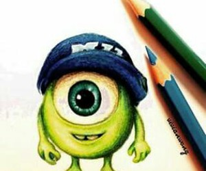 disney, pixar, and monsters image