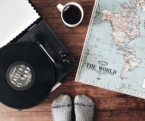 travel, coffee, and adventure image