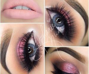 makeup, eyes, and eye makeup image
