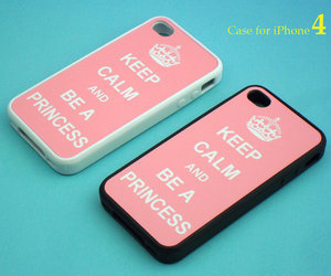 iphone 4 case, fashion, and pink image