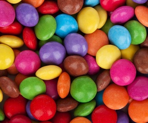 food, colors, and sweet image